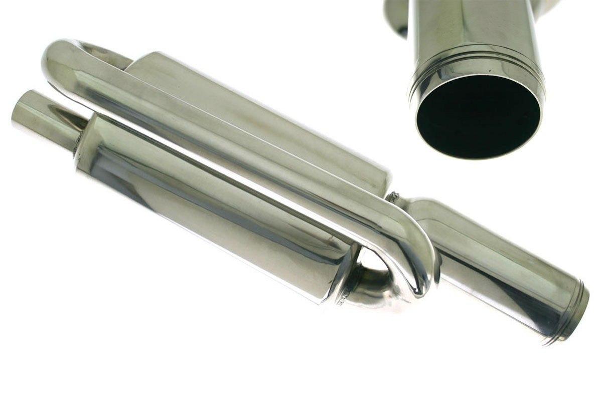 Tłumik Końcowy TurboWorks 90mm wejście 63,5mm - GRUBYGARAGE - Sklep Tuningowy